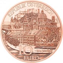 Austria 2014. 10 euro. Salzburg. (Cu)