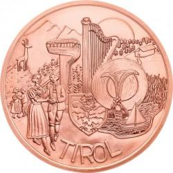 Austria 2014. 10 euro. Tirol (Cu)