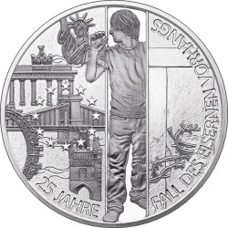 Austria 2014. 20 euro. Iron Curtain