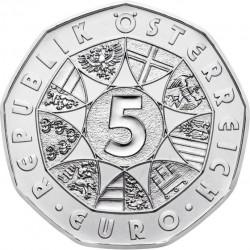 Austria 2014. 5 euro. Arktis (Ag 925)