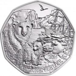 Austria 2014. 5 euro Arktis. (Ag 925)
