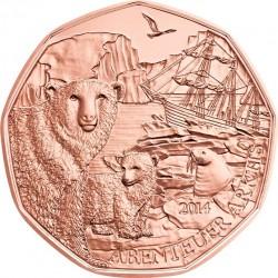 Austria 2014. 5 euro. Arktis (Cu)