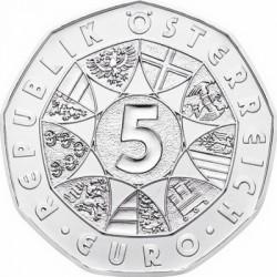 Austria 2014. 5 euro. Neujahr (Ag 800)