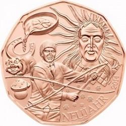 Austria 2014. 5 euro. Neujahr (Cu)