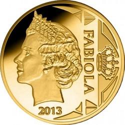Belgium 2013. 12.5 euro. Fabiola