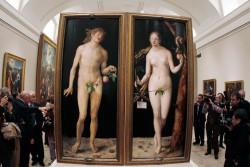 Durer Adam and Eve (1507)