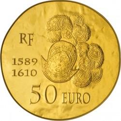 France 2013. 50 euro. Henri IV