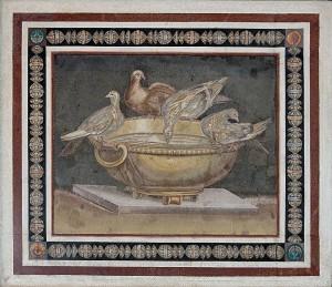 Mosaic doves (Villa Adriana)