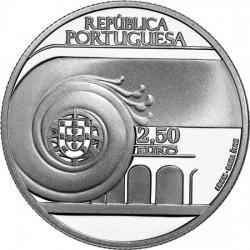 Portugal 2013. 2.5 euro João Villaret (Ag 925)