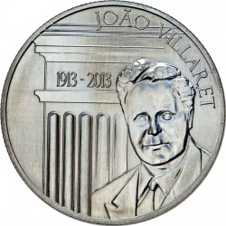 Portugal 2013. 2.5 euro João Villaret (Cu-Ni)