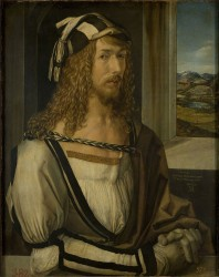 Self-portrait Albrecht Durer (1498)