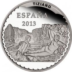 Spain 2013. 10 euro. Tiziano