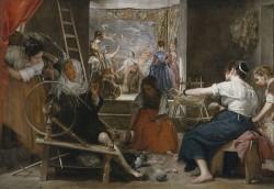 Velazquez las hilanderas (1657)