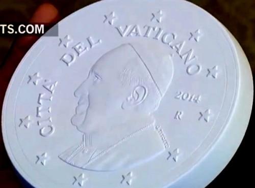 vatican coins 2014 model