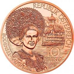 Austria 2013. 10 euro. Vorarlberg (Cu)