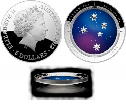 COTY 2014 Australia $5 Southern Cross