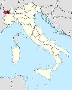 Fenis Castle map