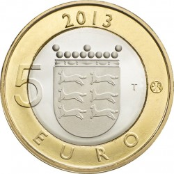 Finland 2013. 5 euro. Ostrobothnia
