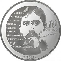 France 2013. 10 euro. Odette de Crécy