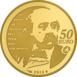 France 2013 50 euro Madame Bovary av