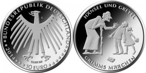 Germany 10 euro 2014 Grimms