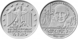 Germany 10 euro 2014 Schadow