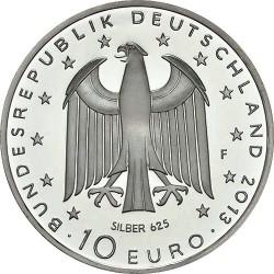 Germany 2013. 10 euro. Georg Büchner (Ag)