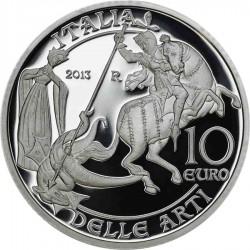 Italy 2013 10 euro Aosta Valley rev