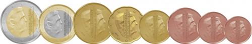 Nederland euro coins 2014