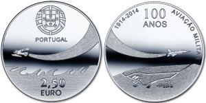 Portugal 2014. 2.5 euro Avia