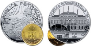 Portugal 2014 2.5 euro Casa da Moeda