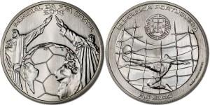 Portugal 2014. 2.5 euro. FIFA