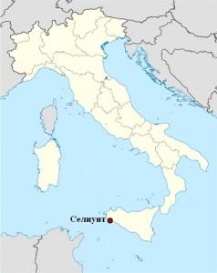 Selinunte map
