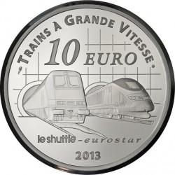 France 2013. 10 euro. Gare du Nord - Gare St Pancras