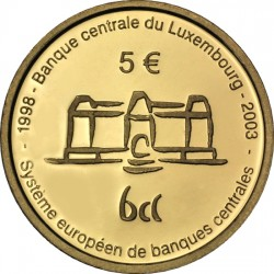 Luxemburg 2003. 5 euro. Banque Centrale du Luxembourg