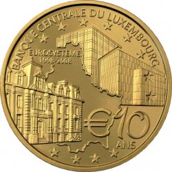 Luxemburg 2003. 10 euro. Banque Centrale du Luxembourg