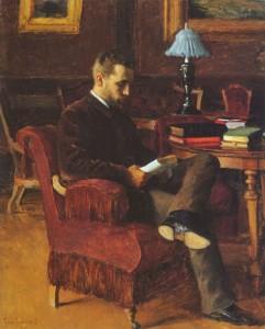 Portrait of Arvid Jarnefelt 1888