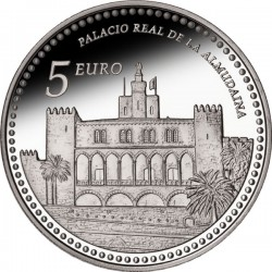 Spain 2013. 5 euro. Palacio Real de La Almudaina