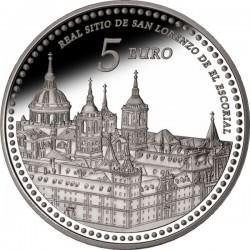 Spain 2013. 5 euro. Monasterio de El Escorial