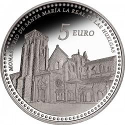 Spain 2013. 5 euro. Huelgas. Monasterio de Santa Maria la Real de las Huelgas