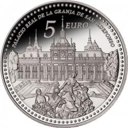 Spain 2013. 5 euro. La Granja