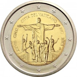 2 euro Vatican 2013 Rio