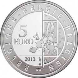 Belgie 2013. 5 euro. Spirou