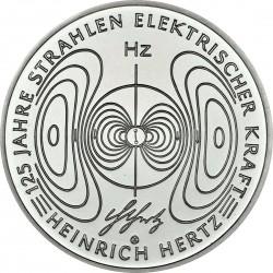 Germany 2013. 10 euro. Heinrich Hertz (Ag 925)