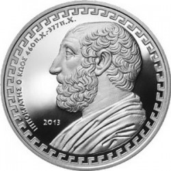 Greece 2013. 10 Euro Hippocrates
