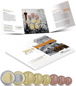 Netherlands Standard Coins Series 2014
