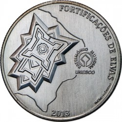 Portugal 2013. 2.5 euro. Town of Elvas and its Fortifications (Cu-Ni)