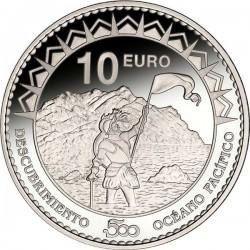 Spain 2013. 10 euro. Oceano Pacífico