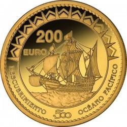 Spain 2013. 200 euro. Oceano Pacífico