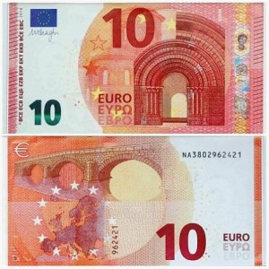 new 10 euro banknote 2014